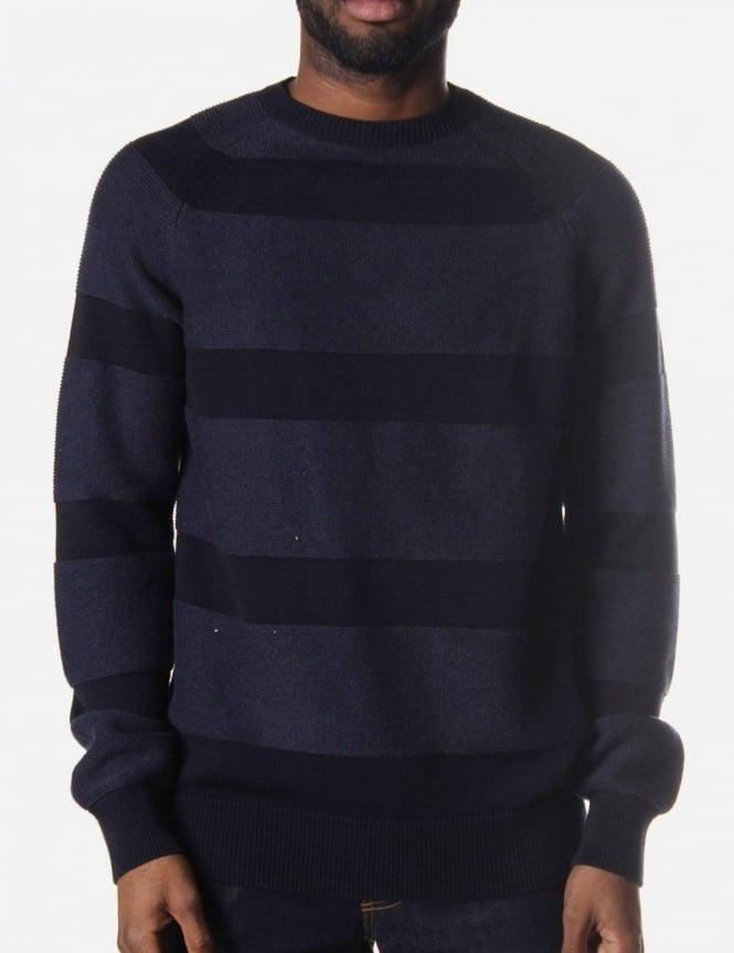 Barbour Crochet Men's Knit Navy