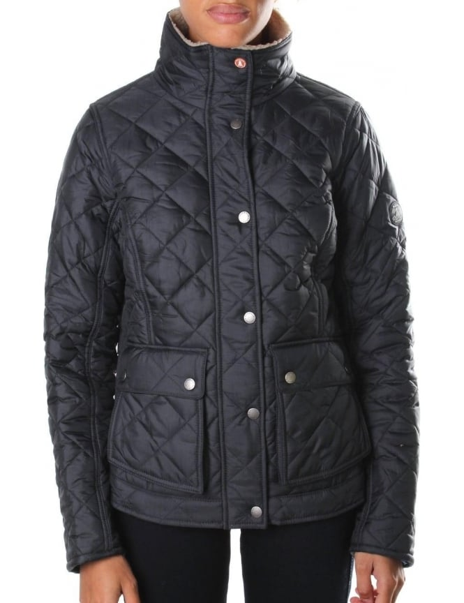 Barbour Cushat Women's Quilted Jacket Navy