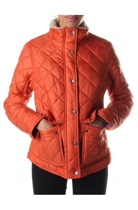 Cushat Women's Quilted Jacket Navy