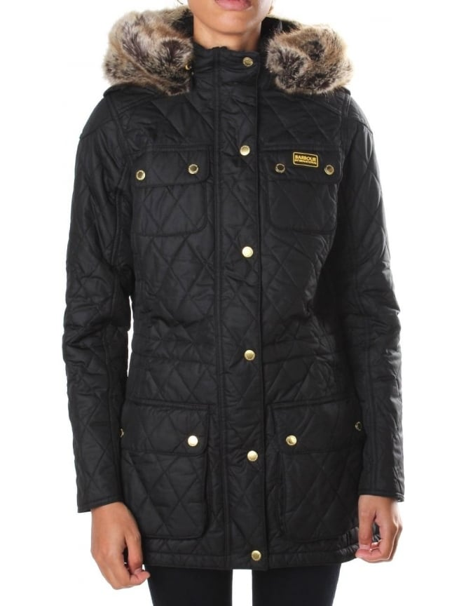 Barbour Enduro Women's Quilt Jacket Black