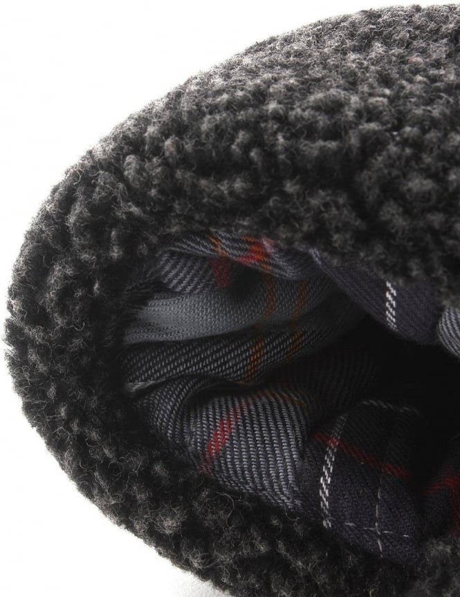 f87f1c42e Barbour Fleece Lined Men's Trapper Hat Black