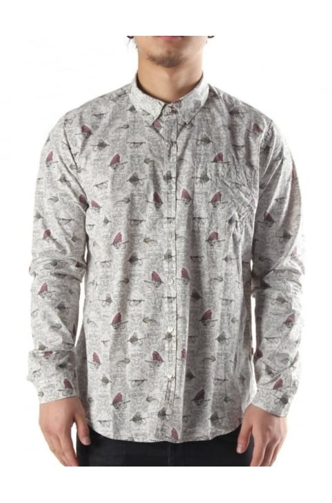 Fly Men's Shirt Natural