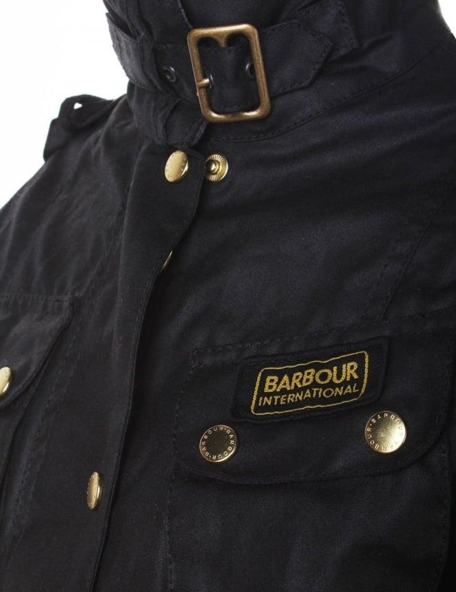 Barbour International Women s Jacket Black 3c21132b8cfb