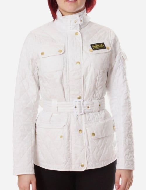 International Women S Quilt Jacket White