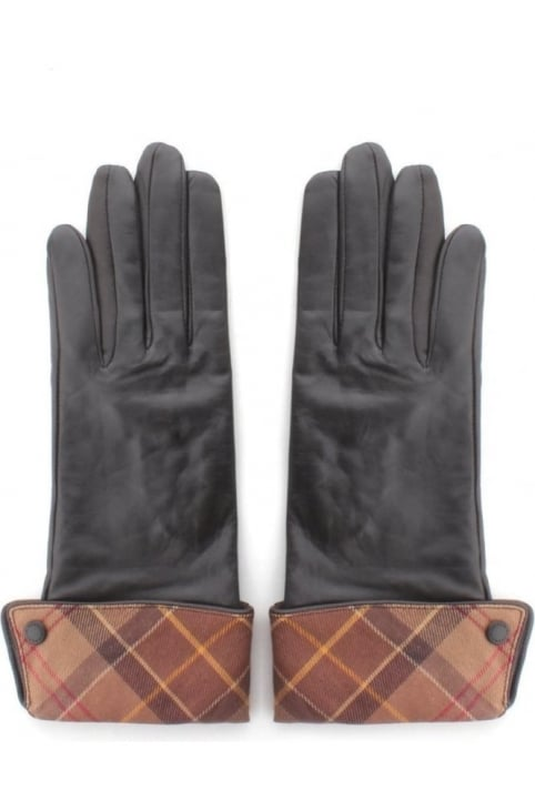 Lady Jane Women's Leather Gloves Chocolate