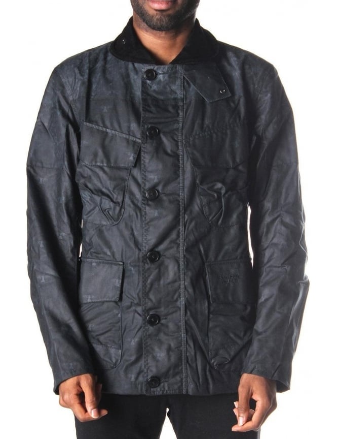 Barbour Mast Men's Jacket Navy