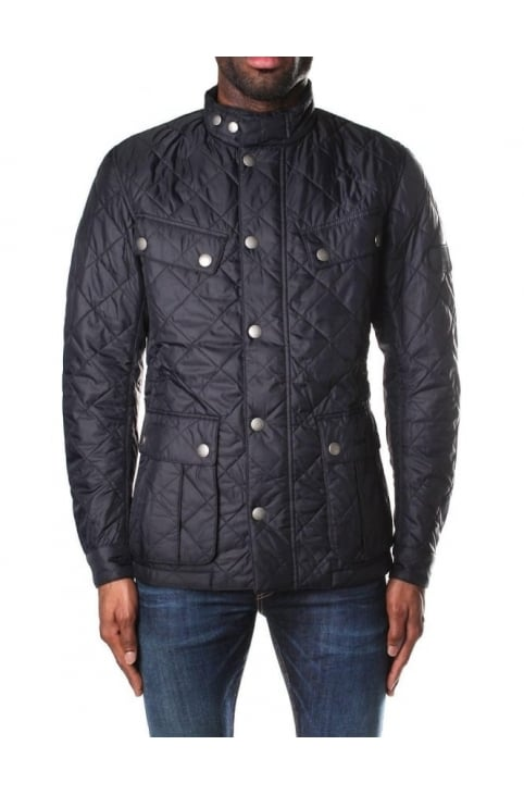 Men's Ariel Quilt Jacket Black