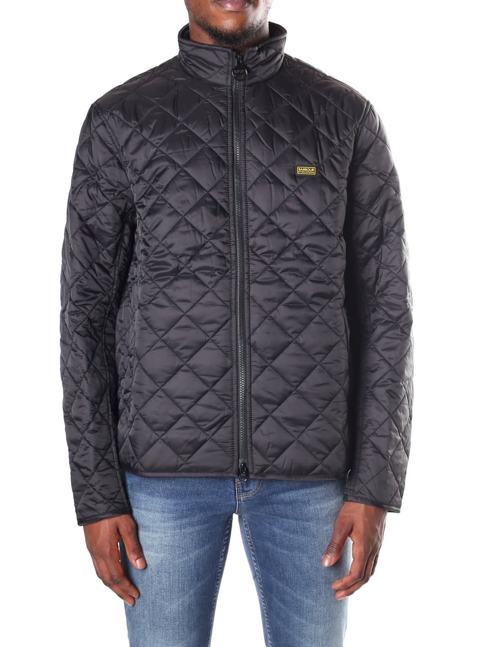 quilted quilt prior d barbour mens jackets jacket drill image