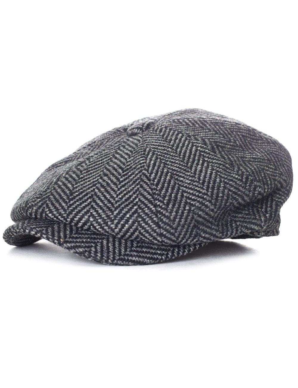cf49cbd3e66 Barbour Men s Herringbone Bakerboy Hat