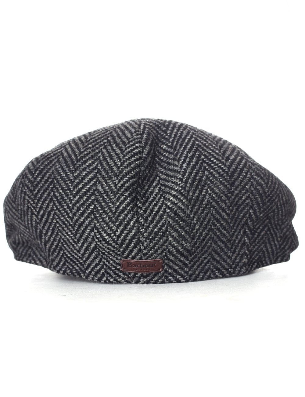 Barbour Men s Herringbone Bakerboy Hat ca3277a50ab