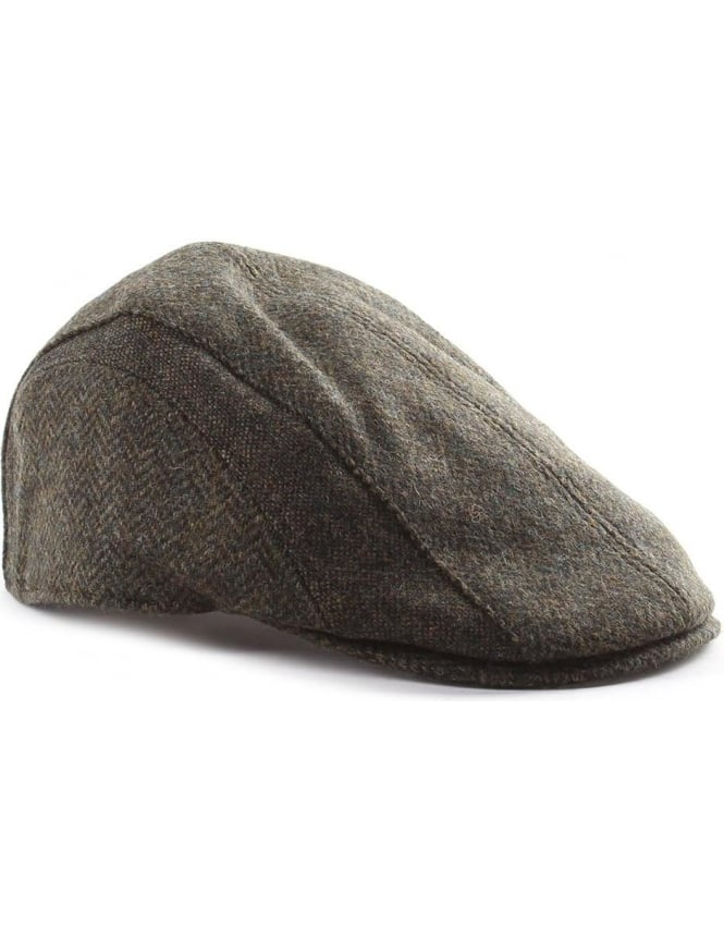 Barbour Men s Herringbone Tweed Cap 611eb11b6c1