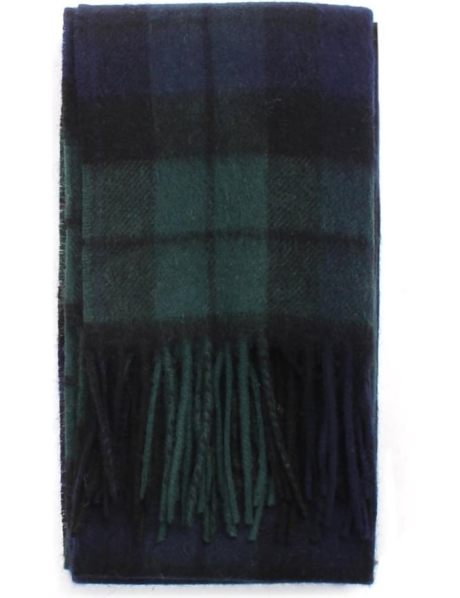 Barbour Men's New Check Tartan Scarf