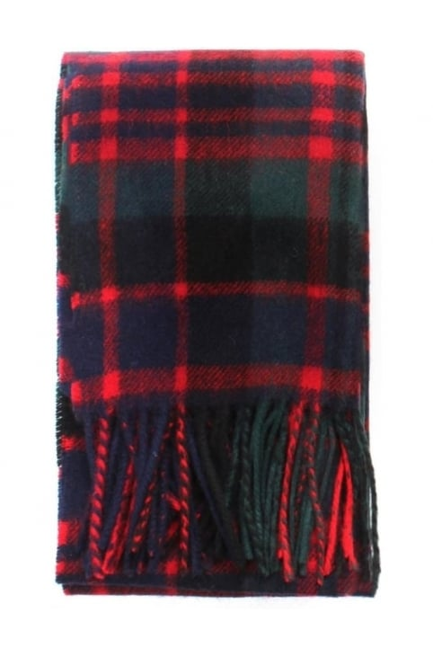 Men's New Check Tartan Scarf