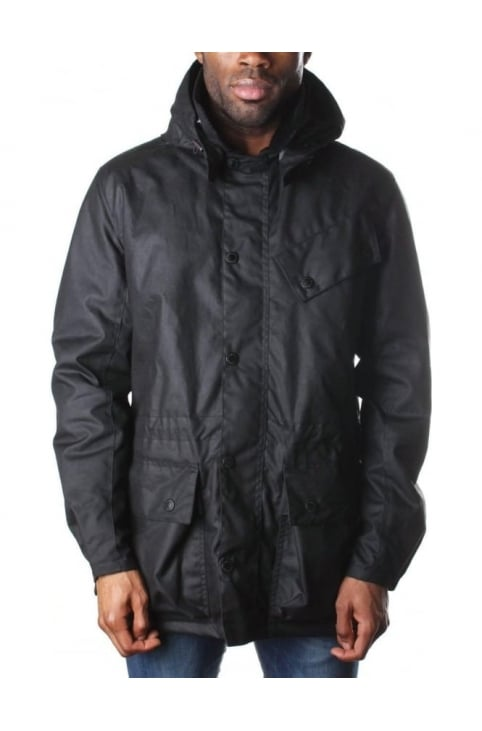 Men's Onyx Wax Jacket Black