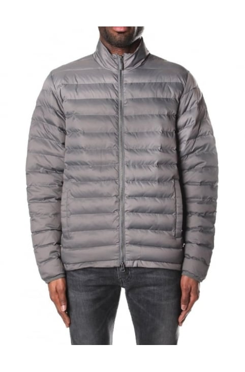 Men's Quilted Impeller Jacket Grey