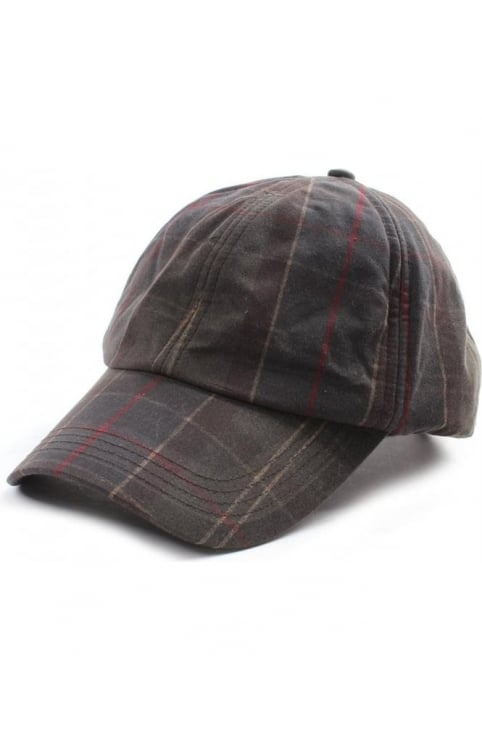 Men's Tartan Wax Sports Cap