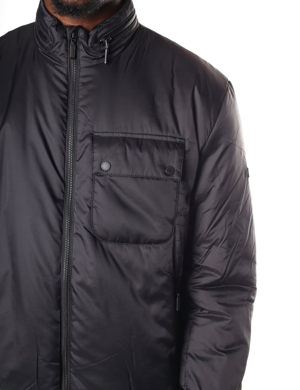 mens barbour p quilt blue lrg navy jacket international outlet hartland ladies quilted store