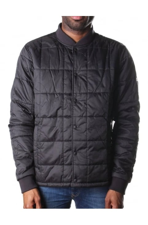Men's Worn Jacket Black