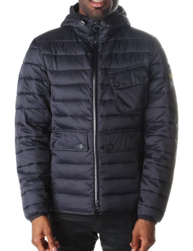 Barbour Ouston Men's Hooded Quilt Jacket