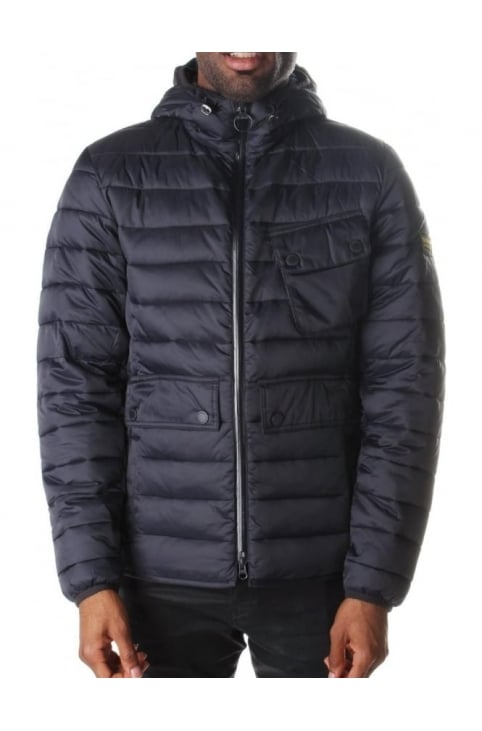 Ouston Men's Hooded Quilt Jacket