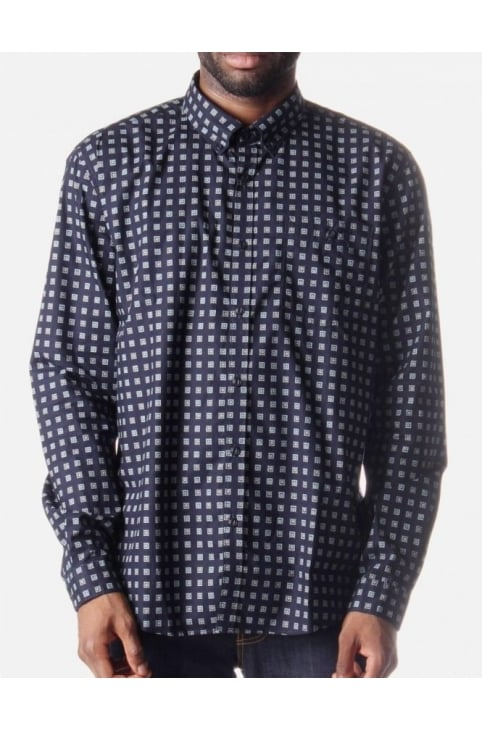 Oxbox Men's Shirt Navy