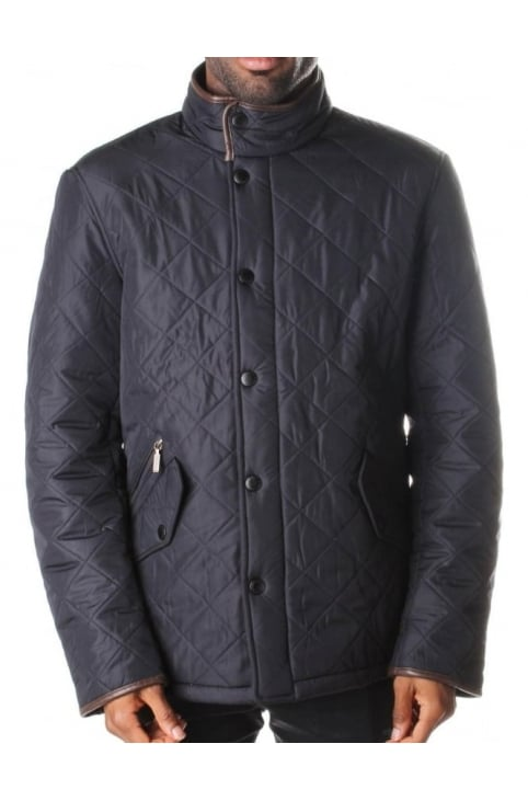 Powell Quilt Men's Jacket Navy