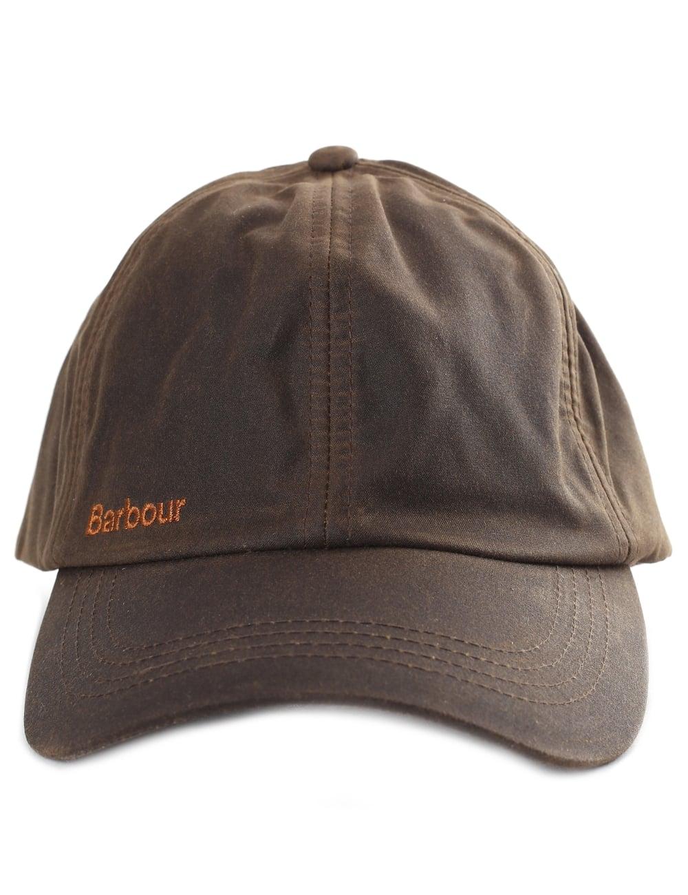 Barbour Prestbury Men s Wax Sports Cap 95bd120c861