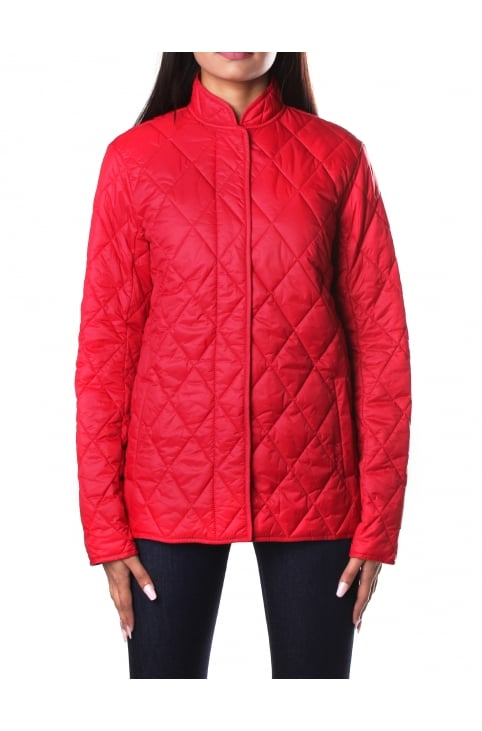 Rae Loch Women's Quilted Jacket Red