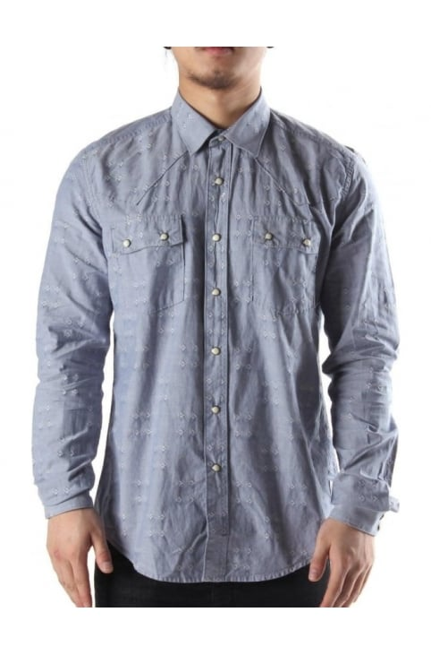 Redrock Men's Shirt Blue