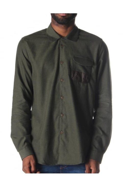 Renison Men's Shirt Olive