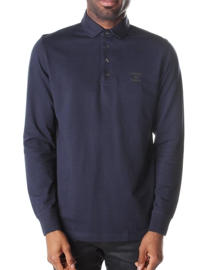 Barbour Standards Men's Long Sleeve Polo Top