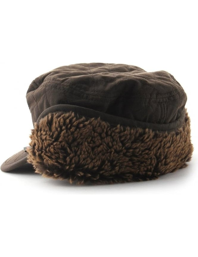 dd633f36a37 Barbour Stanhope Men s Waxed Hunting Cap Olive