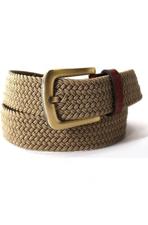 Stretch Men's Webbing Belt