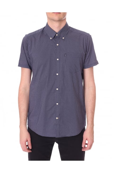 Tailored Fit Men's Short Sleeve Theo Shirt