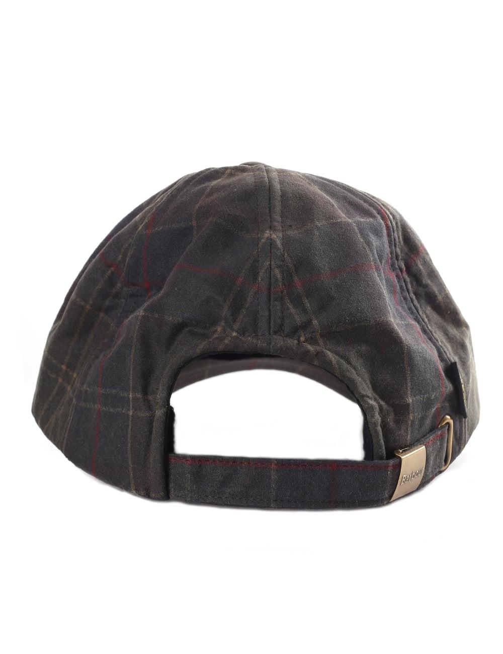 f592b4d0052b8 Barbour Tartan Men's Wax Sports Cap
