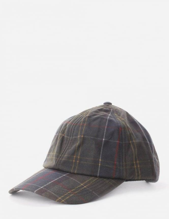 64b73542f804d Tartan Wax Men's Sports Cap Olive