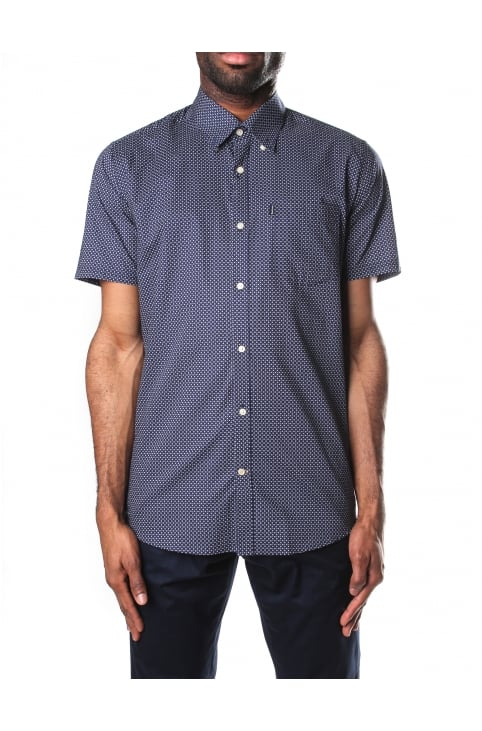 Theo Short Sleeve Tailored Fit Shirt