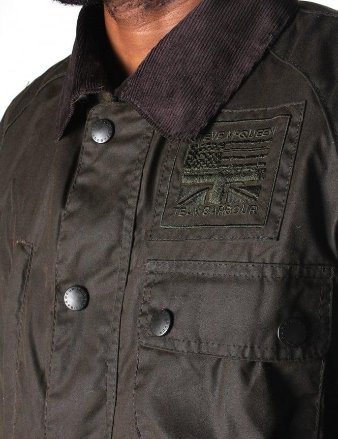 bfb56d844 Barbour Thomas Men's Jacket Olive