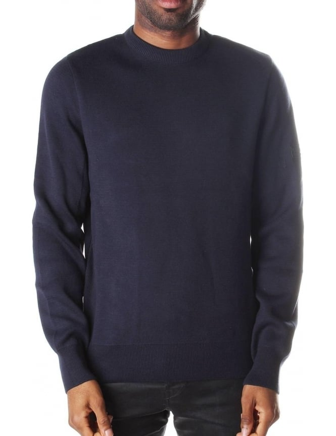Barbour Throttled Men's Crew Neck Knit