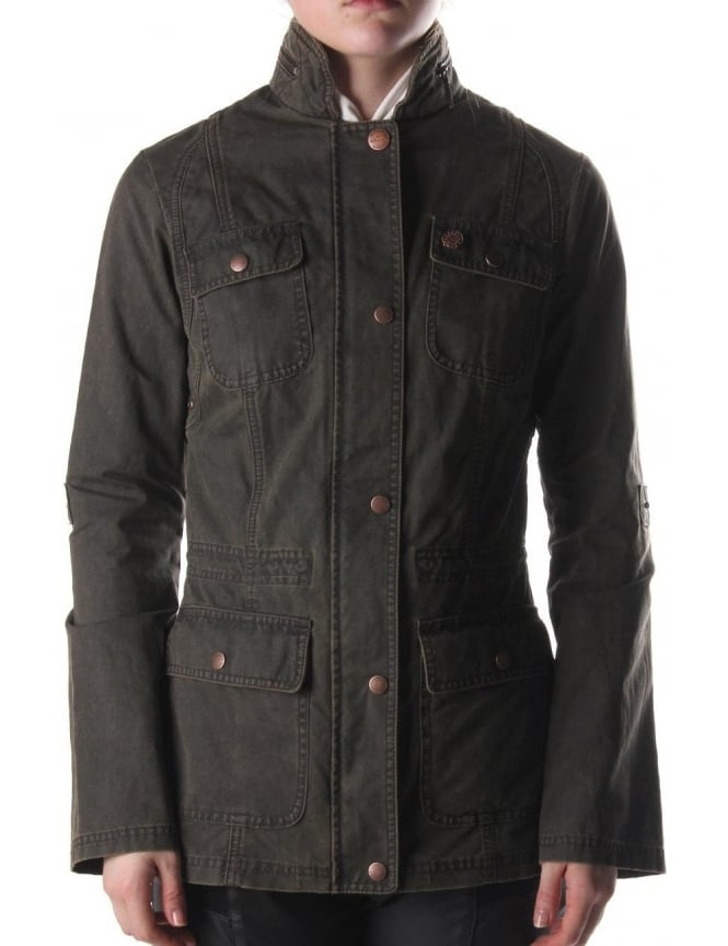 Barbour Ure Casual Women's Jacket Brown
