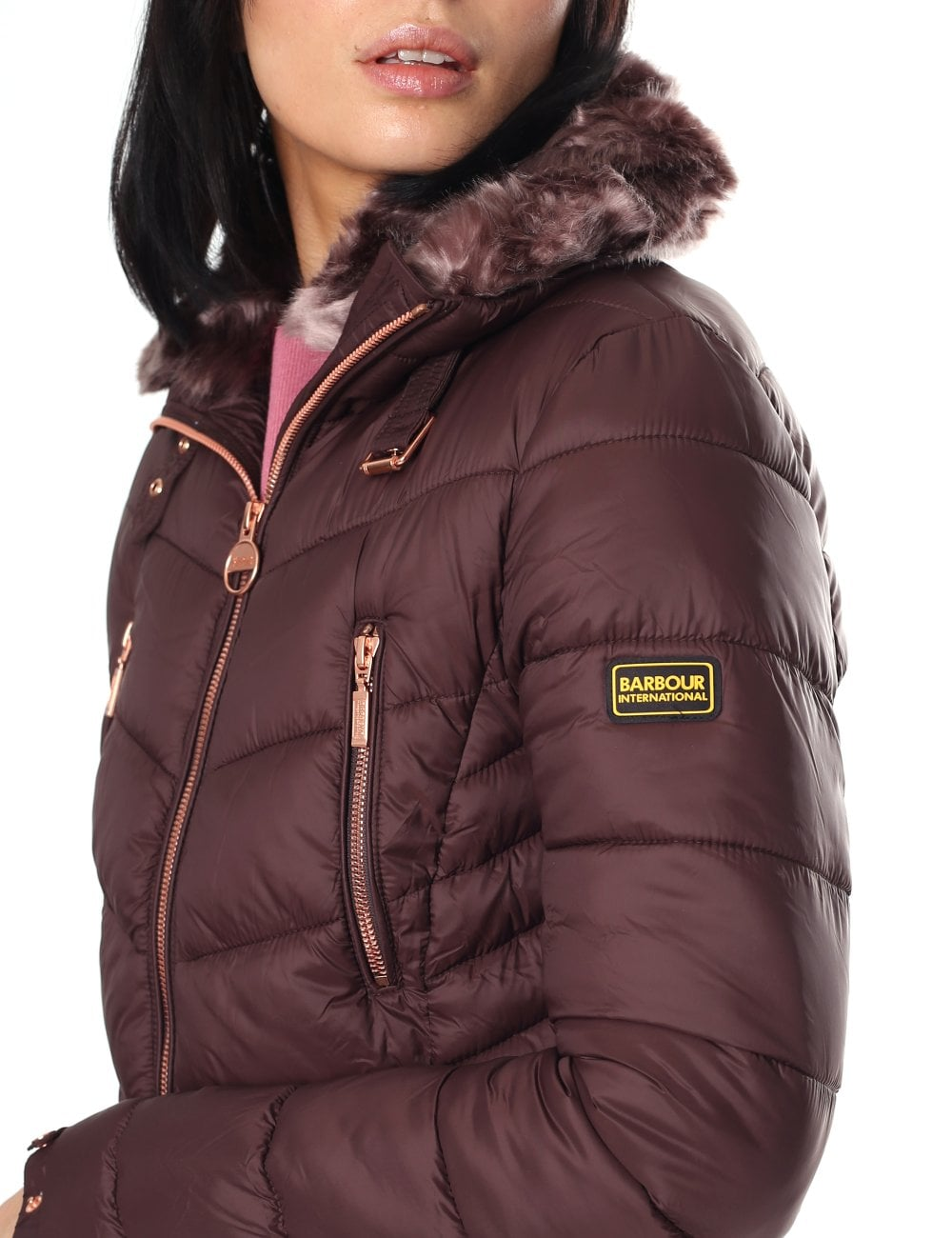 Barbour Women s Autocross Quilted Jacket 61b109fa5d