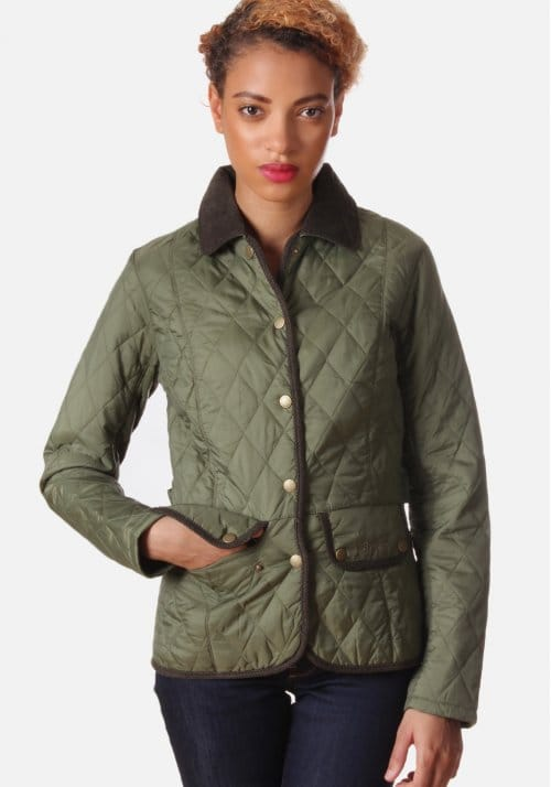 Womens barbour vintage quilted jacket