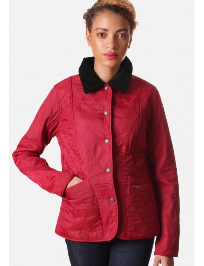 Barbour Women's Winter Liddesdale Jacket Chilli Red