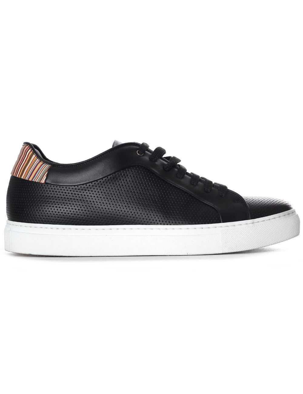 paul smith basso leather sneakers for
