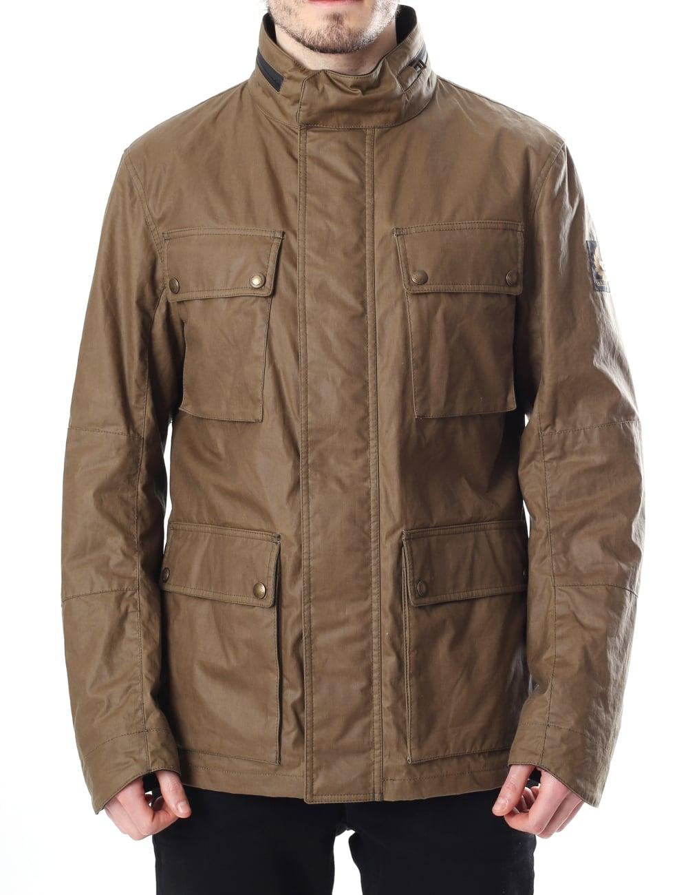 701d092662 Belstaff Explorer Men s Waxed Jacket