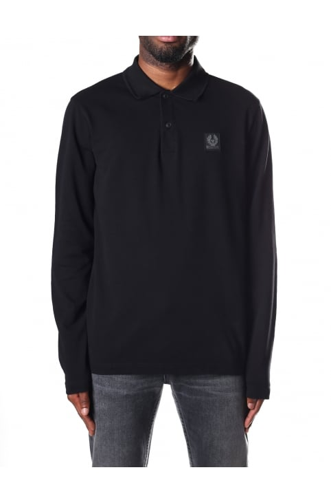 Men's Selbourne Long Sleeve Polo Top