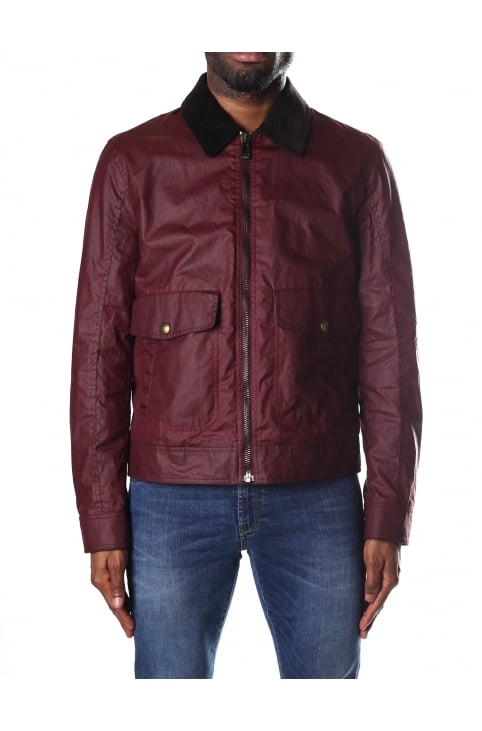 Mentmore Men's Waxed Blouson Jacket