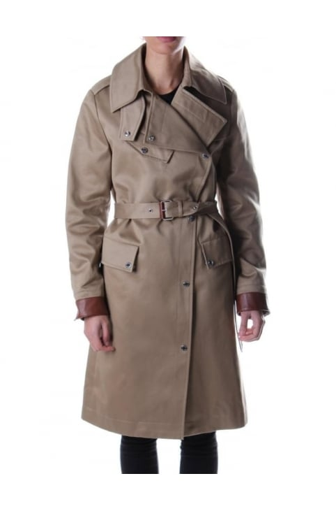 Riders Women's Long Coat Khaki
