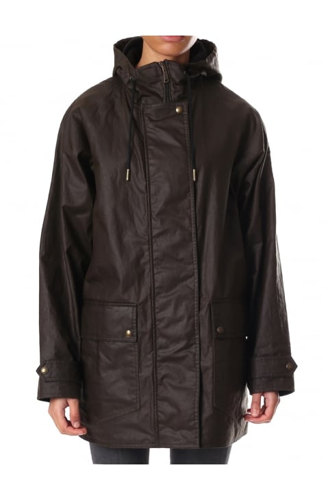 Waxed Women's Parka Jacket