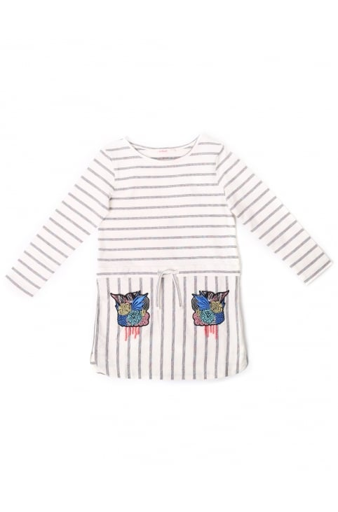 Girls Embroidered Tunic Dress